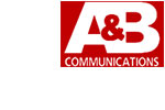 A&B Communications  logo