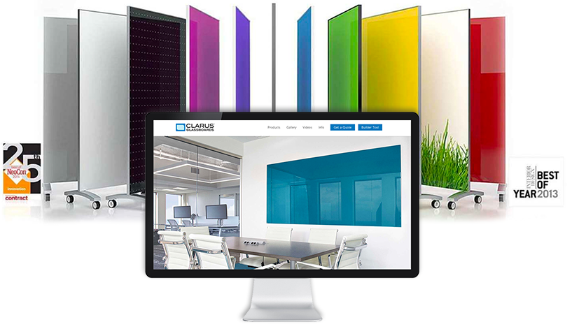 image of Clarus Glassboards products